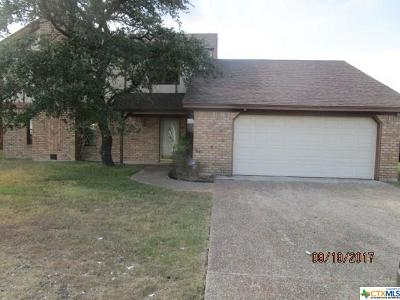 Copperas Cove TX Single Family Home For Sale: $149,500