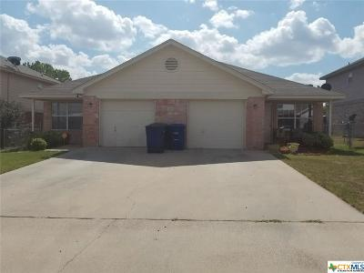Copperas Cove Multi Family Home For Sale: 3107 Yaupon Road
