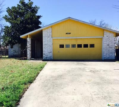Killeen Single Family Home For Sale: 2606 Lake