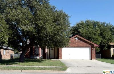 Copperas Cove Single Family Home For Sale: 212 Appaloosa