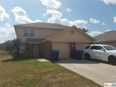Copperas Cove Multi Family Home For Sale: 3105 Yaupon Road