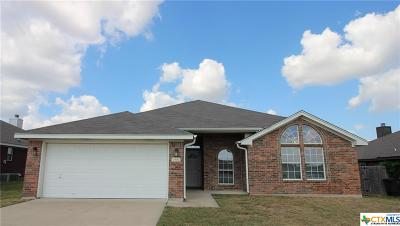 Killeen Single Family Home For Sale: 4607 Vahrenkamp