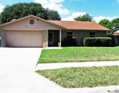 Copperas Cove TX Single Family Home For Sale: $104,900