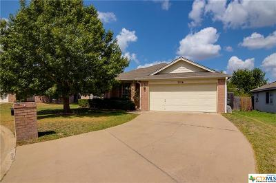 Temple TX Single Family Home For Sale: $129,900