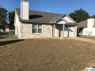 Killeen Single Family Home For Sale: 2703 Taft