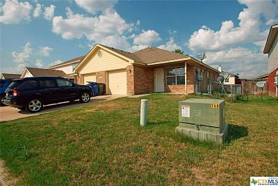 Copperas Cove Multi Family Home For Sale: 3110 Yaupon Road
