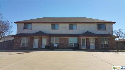 Killeen Single Family Home For Sale: 4508 Mattie Drive #A