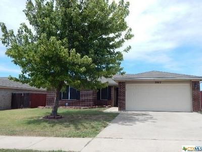 Killeen Single Family Home For Sale: 2805 Boswell