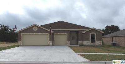 Copperas Cove Single Family Home For Sale: 2515 Heartland Avenue