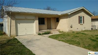 Copperas Cove Single Family Home For Sale: 724 Avenue E