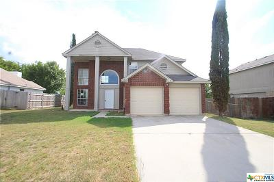 Killeen Single Family Home For Sale: 2806 Bluejay