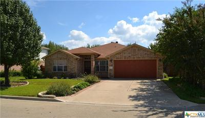 Harker Heights Single Family Home For Sale: 103 Deer Horn Pass