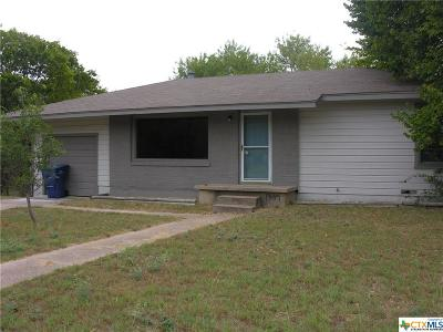 Copperas Cove Single Family Home For Sale: 1307 Robert Avenue