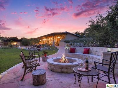 Wimberley TX Single Family Home For Sale: $697,000