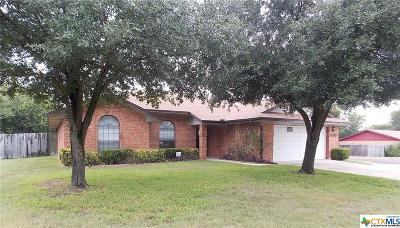Harker Heights Single Family Home For Sale: 1700 Beaver Trail