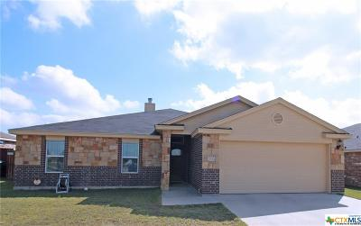 Copperas Cove Single Family Home For Sale: 2531 Heartland