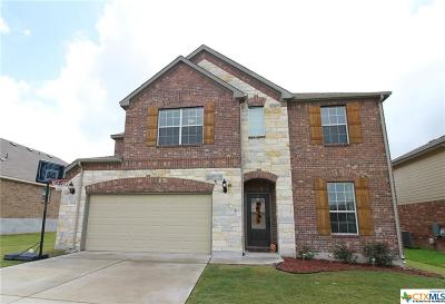 Harker Heights Single Family Home For Sale: 804 Green Meadows