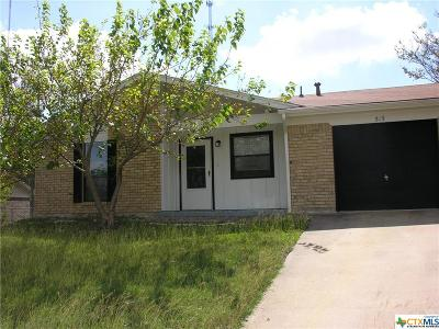 Copperas Cove Single Family Home For Sale: 519 Geri