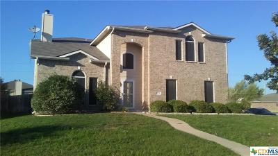 Harker Heights Single Family Home For Sale: 713 White Hawk Trail