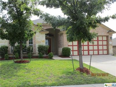 Copperas Cove Single Family Home For Sale: 2106 Vernice Drive