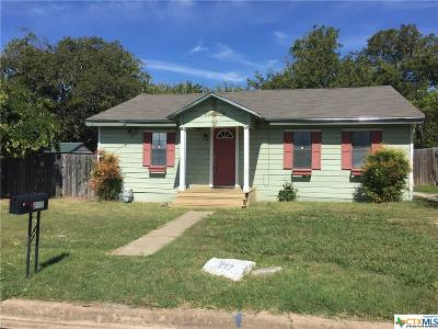 Killeen TX Single Family Home For Sale: $53,900