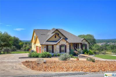 New Braunfels TX Single Family Home For Sale: $619,900