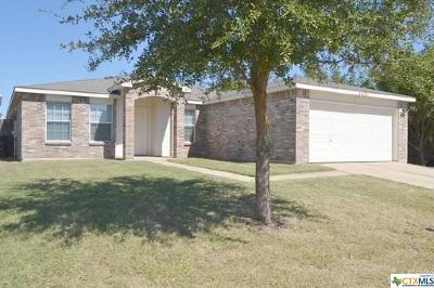 Killeen Single Family Home For Sale: 3409 Thunder Creek Drive