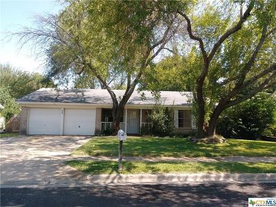 Copperas Cove Single Family Home For Sale: 1805 Pleasant