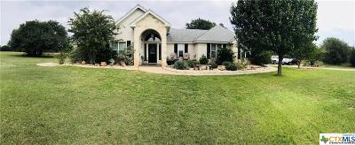 Salado Single Family Home For Sale: 1635 Hidden Springs Drive