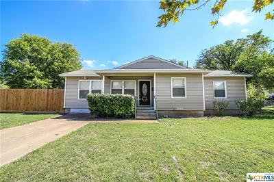 Temple Single Family Home For Sale: 2711 Avenue R