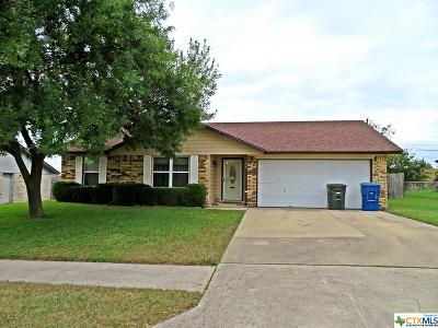 Copperas Cove Single Family Home For Sale: 106 Blancas Drive