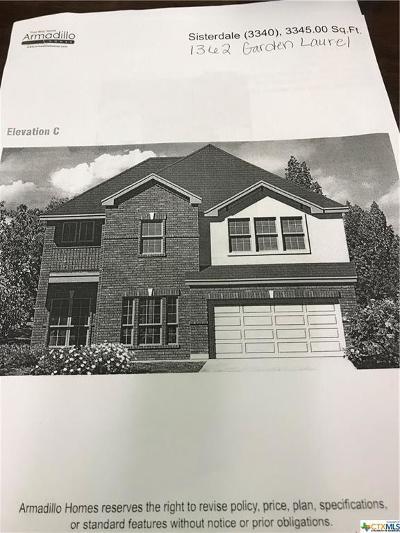 New Braunfels Single Family Home For Sale: 1362 Garden Laurel