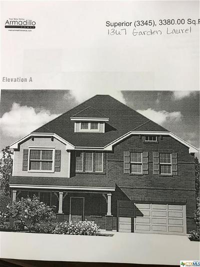 New Braunfels Single Family Home Pending Take Backups: 1367 Garden Laurel