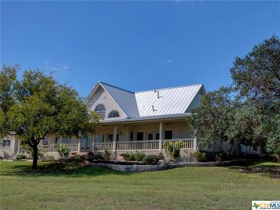 New Braunfels Single Family Home For Sale: 530 Homestead Ridge