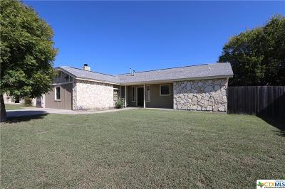 Killeen Single Family Home For Sale: 2106 Lazy Ridge