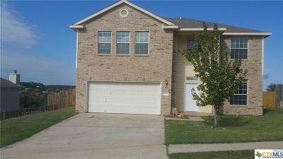 Copperas Cove Single Family Home For Sale: 917 Northern Dancer Drive