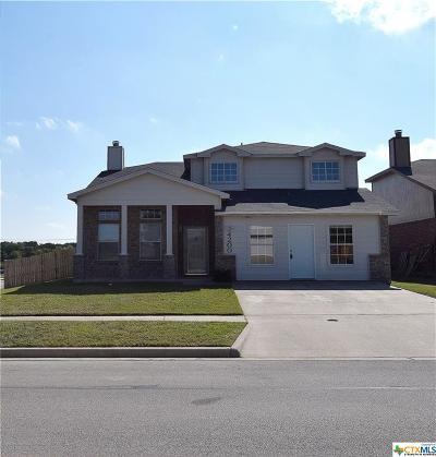Killeen Single Family Home For Sale: 4200 Indigo