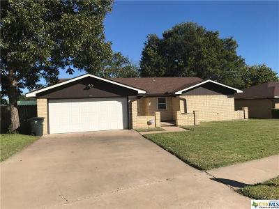 Killeen Single Family Home For Sale: 1408 Becker Drive