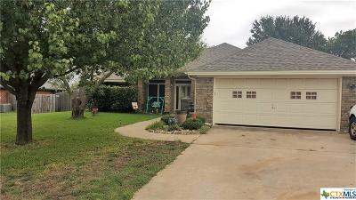 Harker Heights Single Family Home For Sale: 611 Paintbrush