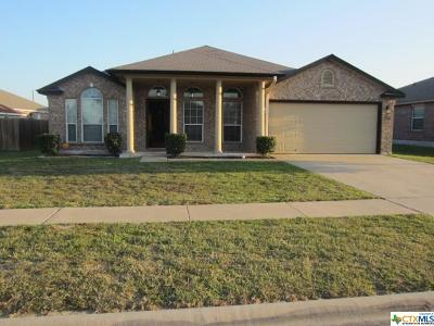 Killeen TX Single Family Home For Sale: $179,900