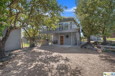 Canyon Lake TX Single Family Home For Sale: $195,000