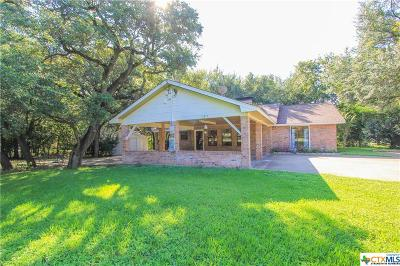 Salado Single Family Home For Sale: 1611 Guess Dr.