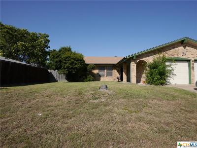 Killeen Single Family Home For Sale: 4205 Mountain View