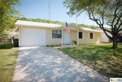 Copperas Cove Single Family Home For Sale: 810 Traci Drive