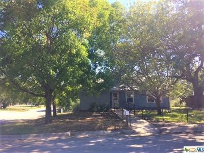 Lampasas Single Family Home For Sale: 507 Broad