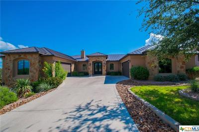 Canyon Lake Single Family Home For Sale: 1808 Bella Vista