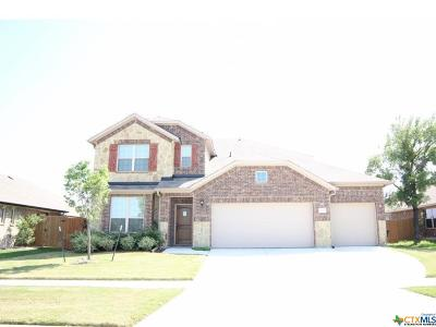 Killeen Single Family Home For Sale: 2604 Natural