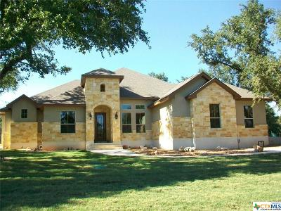New Braunfels Single Family Home Pending Take Backups: 2657 Red Bud Way