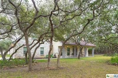 Wimberley TX Single Family Home For Sale: $599,500