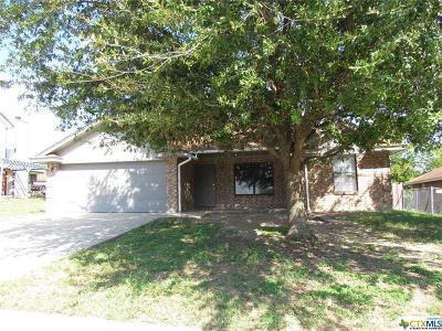 Killeen Single Family Home For Sale: 3922 Bur Oak Drive